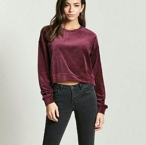 NWT Smooth Velvet Pullover